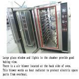 Four à air chaud de fonction de circulation de système de vapeur pour le pain de Loave, biscuit, biscuits, pain de Freach, Ect.
