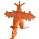Traje de mascote de laranja Charizard Character Costume popular