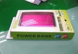 Caixa de papel plástica do fabricante para o banco da potência (pacote plástico do presente)