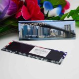 Imán impreso papel de encargo del refrigerador de la ciudad del recuerdo del metal del fabricante de Foshan