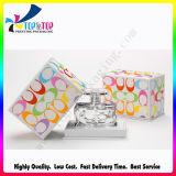 Insignia de la alta calidad que estampa el fabricante colorido del rectángulo de papel del perfume