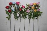 Th2615の高品質のばねの多彩なハンドメイドのホーム装飾の人工的なローズの花