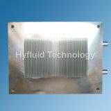 Refroidisseur d'eau avec des ailettes de radiateur, radiateur de refroidissement par eau, 180X145X40mm, Al