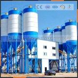 Plantes à mélanges de béton de 50m3 / H avec mélangeur de silo / ciment sec