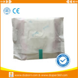 Favorable al medio ambiente degradable Certified Organic Cotton compresa sanitaria