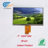 Área de Moudle de 7 pulgadas monitor de 164.9 x de 100X2.8m m TFT LCD