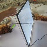 Taille acrylique en cristal ultra mince de la boîte A3 de voyant de LED