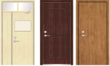 Le feu Door/Solid Door/Wooden Fire Door avec les BS 476 Standard Certified