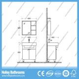 現代熱い販売MDFの床-取付けられた浴室は2つのドア(BF136V)とセットした