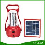 Lampe Emergency solaire campante solaire USB de lanterne de la pleine fonction DEL rechargeable avec des câbles