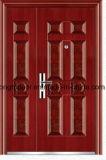 Puerta de la seguridad del acero inoxidable de la prueba de la bala del precio bajo