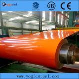 S280gd a enduit la bobine d'une première couche de peinture en acier enduite par couleur en acier galvanisée de bobine
