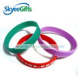 Bracelet bon marché en bloc de silicones personnalisé par vente en gros
