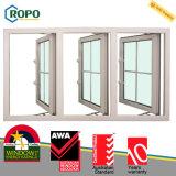 Самая последняя конструкция решетки окна Casement оборудования UPVC/PVC Roto безопасности