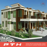 Casa de aço luxuosa modular da casa de campo do edifício do estilo de Médio Oriente