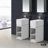 Lavabo libre moderno cuadrado del cuarto de baño