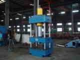 Tôle formant la presse hydraulique