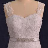 Реальный шнурок Tulle фотоих отбортовывает платья венчания Mermaid (TM-mm125)