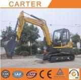 Excavador hidráulico de múltiples funciones de la retroexcavadora de CT60-8b (Yanmar engine&6t)
