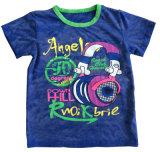快適な品質Sqt-609と着ている子供の浜の赤ん坊のTシャツの男の子のTシャツ