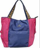 Signora Nylon con il commercio all'ingrosso di cuoio di /China del sacchetto di mano (BS12210)