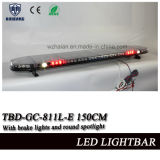 59 pouces DEL avertissant Lightbar avec le projecteur, la lumière de frein, les manipulations et les lumières d'alliage (TBD-GC-811L-E 150CM)