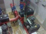 Bomba centrífuga de motor diesel