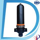 Fabricante hidráulico del filtro de agua de la guarnición plástica del tubo de acero de carbón