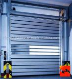 A liga de alumínio espiral de alta velocidade rola acima a porta da garagem