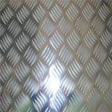 Geprägte Aluminiumplatte mit orange Schalen-Muster