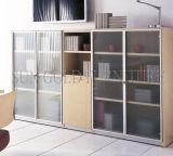 Gabinete de parede de madeira barato moderno do arquivamento do escritório Home da melamina (SZ-FC069)