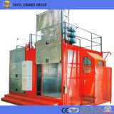 Sc200/200販売のための二重ケージの構築の揚げべらの/Constructionの起重機の/Constructionのエレベーター