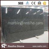 Bom preço Emerald Pearl Granite / Black Galaxy / Absolute Black Granite Slab for Kitchen Countertop, Island Top
