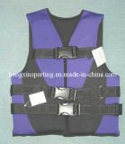 Chaleco salvavidas de nylon con poliéster (HXV0011)