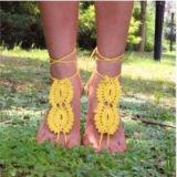 De gevoelige Armband van de Enkel haakt de Blootvoetse Juwelen van de Voet Sandals