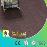 Revestimento estratificado de madeira de madeira resistente sulcado U branco de Laminted da água do carvalho