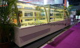 Doppeltes Curved Glass Refrigerate Display Cake Showcase mit Cer