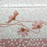 3D Ceramiektegel van de Rustieke van het Porselein van de Druk Waterdichte Rode Vloer van de Muur