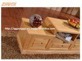Gabinete de madeira da mobília da sala de visitas do gabinete da tevê da madeira contínua
