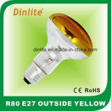 R80-E27 вне желтого шарика Refelctor