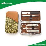 Высокий профессиональный комплект Manicure инструмента красотки в случае PU