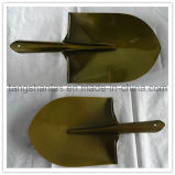 Головка и лопата лопаткоулавливателя цвета лопаткоулавливателя железнодорожные стальные золотистые
