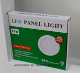 높은 Lumen 24W Ultra Slim LED Panel (WD-STP02-S-24W)