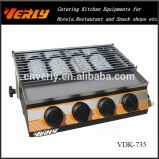 Power-Savegas-Grill-Ofen, kleiner Ofen BBQ-4-Heads (VDK-735)