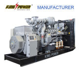 910kw elektrische Diesel Generator met Motor Perkins voor Krachtcentrale