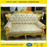 Sofá real moderno para la silla de novia y del novio del asiento de amor de la boda