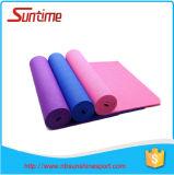 Natte de yoga de PVC de forme physique d'exercice, natte de yoga