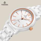 Quarzo di ceramica bianco Watch71077 delle signore dell'orologio del regalo della vigilanza di nuovo stile