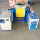 De Industriële Oven in drie stadia van de Inductie voor het Smelten