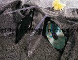 Dubbele Plastic CD Case met Black Tray (cb-210)